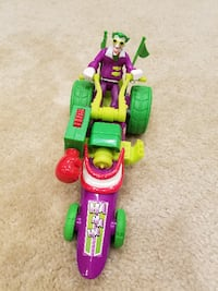 Fisher Price Hero World DC Super Friends The Joker And Funny Car Springfield
