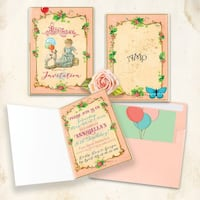 Vintage Invitations for birthday party  Vaughan, L4L 1A6