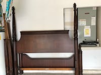 Solid Wood King Size Poster Bed Orlando, 32828