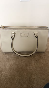 White Kate Spade leather tote bag Baltimore, 21202
