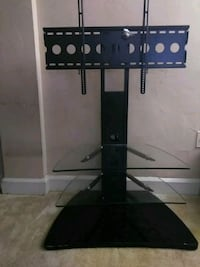black and gray TV stand Alexandria, 22305