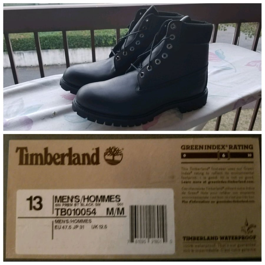 "Timberland Men's Icon 6"" Boots - Black"