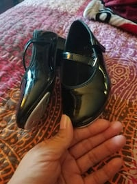 black patent leather mary jane flats East Northport, 11731