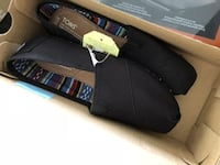 Toms size 8 Black on Black brand New Calgary
