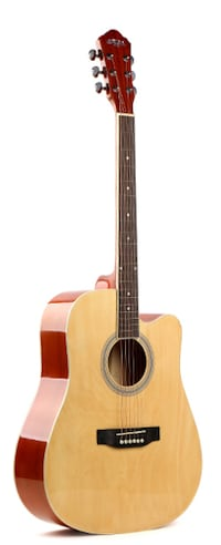 Acoustic guitar for beginners 41 inch full size Natural Brand new Toronto