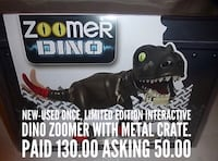 Limited edition zoomer dino with metal crate Fort McMurray