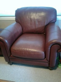 brown leather armchair Calgary, T3G 5K7