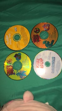 KidzBob 3, 7, and Christmas + Toddler Action Songs CDs Laurel, 20707