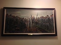 Salute of Honor Canvas Giclee Mort Kunstler  Manassas, 20110