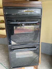GE Double Electric Oven