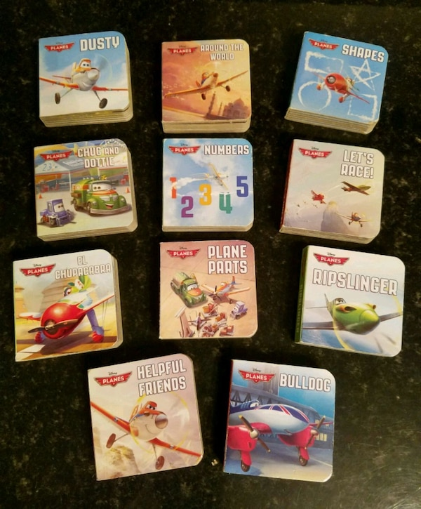 Disney Pixar Planes Mini Board Books
