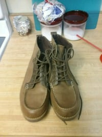 pair of brown leather work boots Ocoee, 34761
