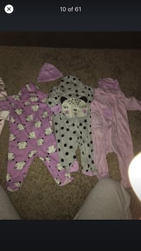 Baby clothes 0-3 months and one newborn suit Sykesville, 21784
