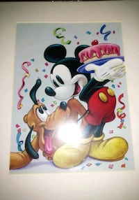2 Disney Bruce McGraw Graphics Prints Rockford, 61108