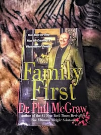 """!! Dr. Phil Hardcover Book """"Family First""""  San Fernando, 91340"""