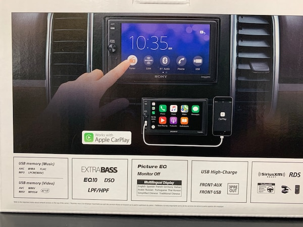 Sony Apple Carplay Double Din Car Stereo With Free Installation