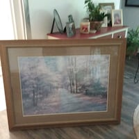 Beautiful matted and framed serene painting !! Peterborough, K9J 5N3