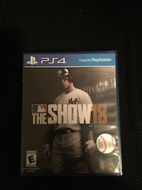 PS4 MLB 18  Riverside, 92504