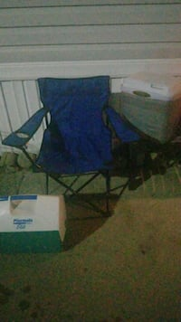 blue and black camping chair Grand Blanc, 48439