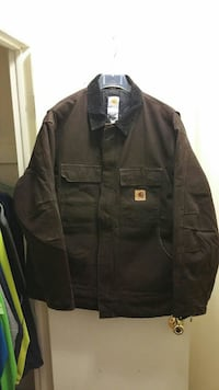 Heavy Carhartt jacket and overalls black lining Fort Myers, 33967