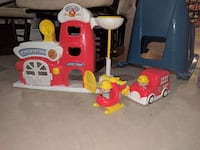 red-and-yellow Fire Station toy set Fulton, 65251
