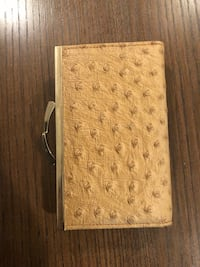 Wallet genuine leather from England  New York, 11375