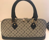 gray and black leather tote bag Palmdale, 93550
