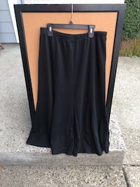 Chico's Long Black Pleated Skirt Size 8 Troutdale, 97060