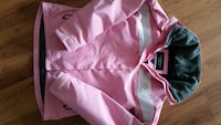 rosa full zip-jakke