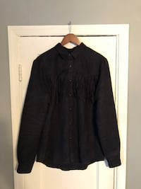 Mens fringe size XL navy blue button down shirt Washington, 20002