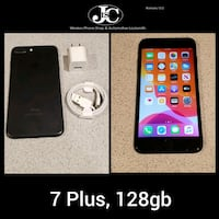 iPhone 7 Plus Matte Black, 128gb!Unlocked For Any Carrier!