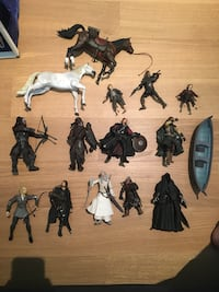 Lord of the rings action figures Toronto, M4W 2Z5