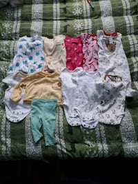 Used girls newborn clothes