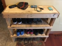 Pallet shoe rack St. Louis Park, 55416