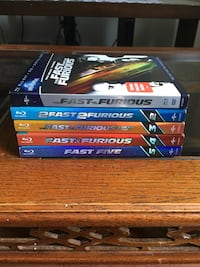 DVD' s - Fast and the furious  in blu Ray. Toronto, M1L 2M6