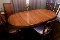 French Provincial solid wood dining table Mississauga, L5L 3G3