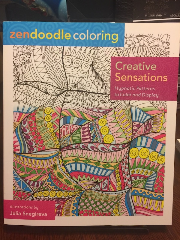 Used Creative Sensations Zendoodle Coloring Book For Sale In Vernon