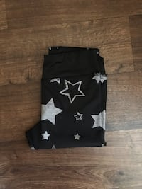 Black Metallic Star Leggings Toronto, M3N 2M3