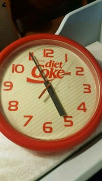Diet cola clock 802 mi