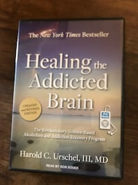 Audio book cd-healing the addicted brain  Columbia, 21046