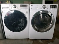 LG  washer and dryer set w steam  Indianapolis, 46231