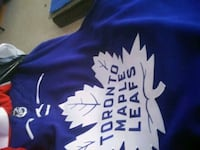 Signed Offical Freddy Andersen Jersey Size large  Toronto