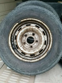 2 tires on rims are in good shape . Peachland, V0H 1X2