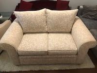 Floral Pearl Love Seat - Like New