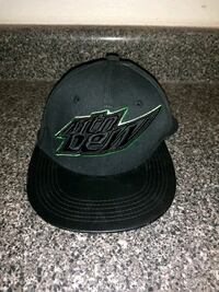 black and green Mountain Dew Snapback Pensacola, 32506
