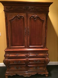 brown wooden cabinet with drawer Arlington, 22202