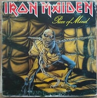 Disco vinilo Iron Maiden Madrid, 28017