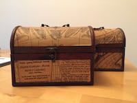 Decorative old luggage small price for both  Newmarket, L3X 1Z4