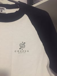 Crooks baseball tee