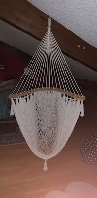 White woven swinging hammock chair from Mexico Ridgefield, 98642
